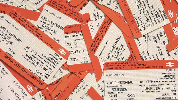 ticket pile